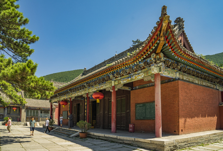 counties: Mount Wutai in Shanxi Province, China, Bishan Temple