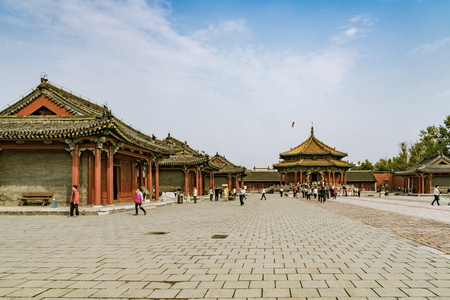 Liaoning City, Shenyang Province, China, Shenyang the Imperial Palace Museum Imagens - 80514785