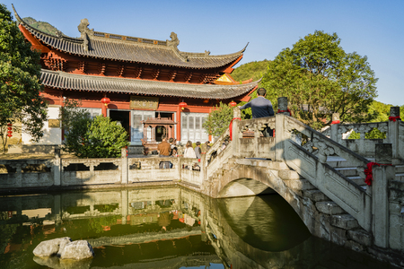 ancestral: Huang Daxian, ancestral temple, Jinhua, Zhejiang, China