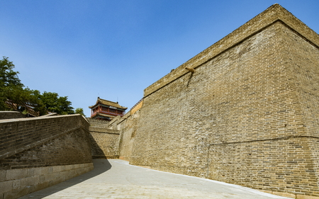 Chinas Hebei Province, Qinhuangdao City, Shanhaiguan, the old leader 新聞圖片