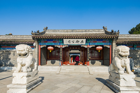 ancient pass: Chinas Hebei Province, Qinhuangdao, Shanhaiguan, and some departments of the armed forces