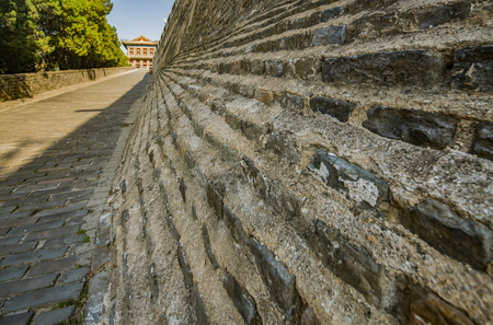 ancient pass: Chinas Hebei Province, Qinhuangdao City, Shanhaiguan the Great Wall Editorial