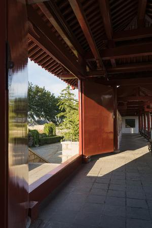 wang: Meng Jiangnu temple, Qinhuangdao, Hebei, China Editorial