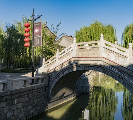 hebei: Hebei Province, Luanxian City, Tangshan City China, Luan bridge.