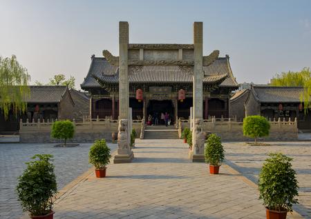 Jinzhong 市、山西省ユイツー市