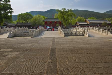 commemorate: Jinci scenic spot in  Shanxi Province