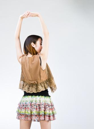 hebei: chinese girl model