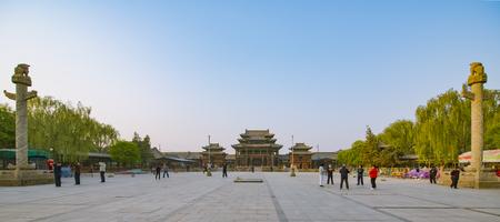 Jinzhong、中国、山西省ユイツー旧東通り広場 写真素材 - 81330400