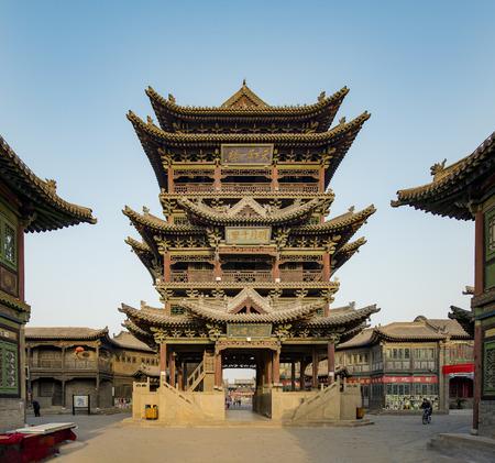 中国山西省 Jinzhong、ユイツー市徐コート