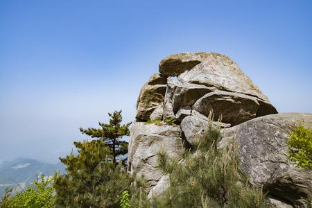 turtle Mountain Scenic Area landscape view