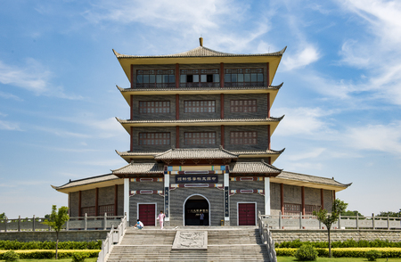 ancestral: Tai Chi ancestral temple Editorial