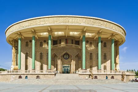 China Xinjiang, Hami Stadt, Muqam Zentrum Standard-Bild - 81588195