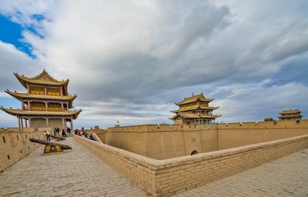 Gansu, Jiayuguan, Jiayuguan scenic area, China Editorial