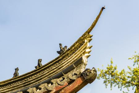 Chinese Jiangsu Zhenjiang, MTE Dinghui temple, religious architecture
