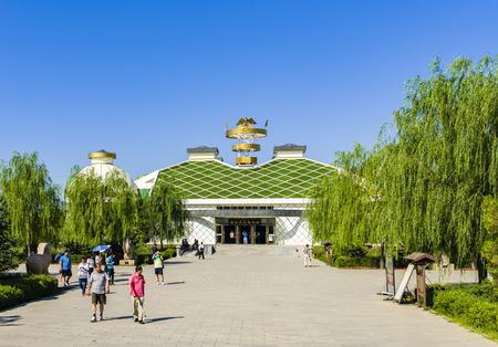 Museum of Hun culture in Inner Mongolia, China Editorial