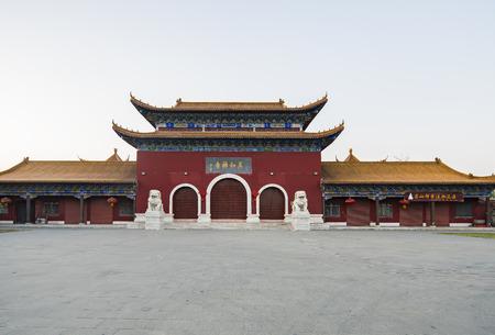 Suqian City, Jiangsu Province, China, Zhenru Temple