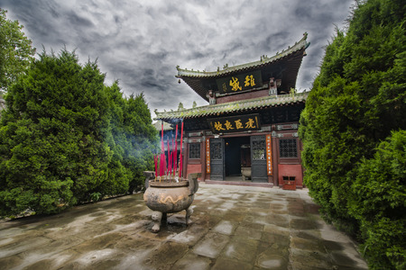 Zhang Fei Temple in the ancient city of Langzhong 新聞圖片