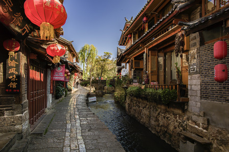 Old Town of Lijiang, Yunnan, China