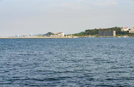 China's Shandong Province, Weihai City, the seaside scenery 版權商用圖片 - 86462746