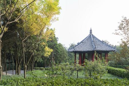 Shandong Penglai pavilion at China.