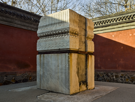 Tomb in an ancient town