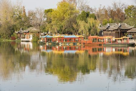 中国陽州市西湖の風景風景
