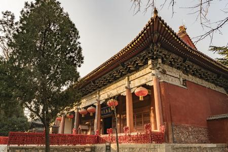 Taishan Temple at Taian City, Shandong Province. Editorial