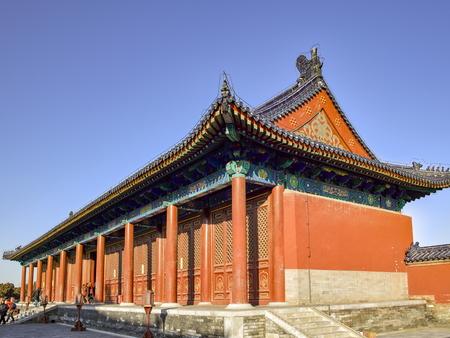Tiantan Park, Beijing, China Editorial