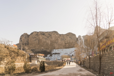China, Hebei Province, Shijiazhuang City, Pingshan County,Water Ecological Scenic Area
