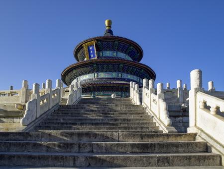 Tiantan Park in Beijing City, Chinese, qiniandian