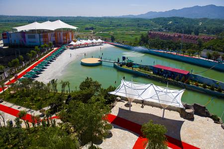 Bailu Hot Spring Hotel,Shijiazhuang City, Hebei Province, China Editorial
