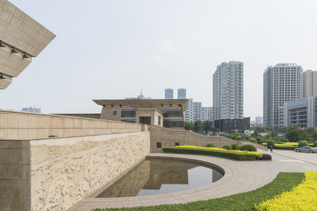 Shanxi Museum at Taiyuan City in Shanxi Province, China. Stock fotó - 108277958