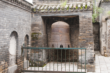 Country, Henan Province, Anyang City, Tangyin Yuefei Temple Scenic Area 版權商用圖片 - 110497656
