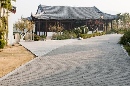 Yunlong Park at Xuzhou City, China.
