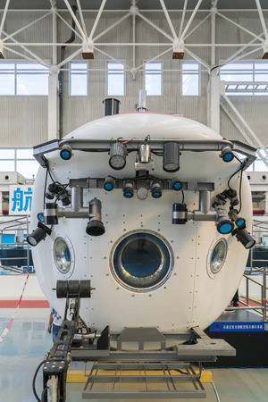 Xiaolong Submersible in 2018 China International General Aviation Expo, China. Editorial