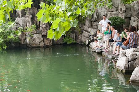 China, Shandong Province, Jinan City, Baotu Spring Scenic Area