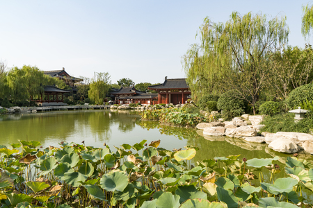 China, Shaanxi Province, Xian City, Linyi District, Huaqing Palace Scenic Area