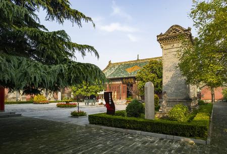 China, Henan Province, Xuchang City, Zhuxian Town, Yuefei Temple