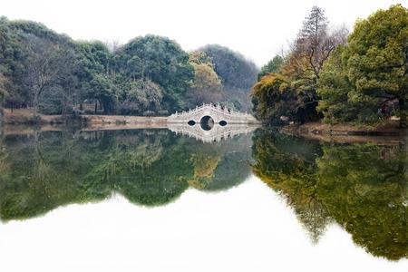 East Lake Plum moshan garden at China. Stock Photo