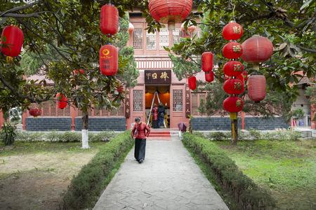 China, Hubei Province, Jingzhou City, the former residence of Zhang Juzheng 版權商用圖片 - 113183350
