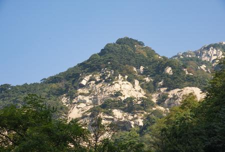 China, Shandong Province, Tai'an City, Taishan Scenic Area