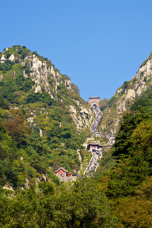 China, Shandong Province, Taian City, Taishan Scenic Area