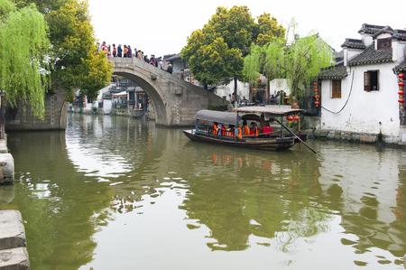 Xitang town at Zhejiang province, China. Editorial