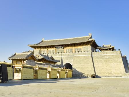 China, Hebei Province, Shijiazhuang City. Zhengding Ancient City Yanghe Building Stock Photo - 117656408
