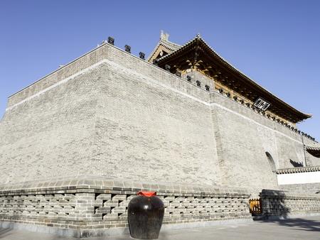 China, Hebei Province, Shijiazhuang City. Zhengding Ancient City Yanghe Building Stock Photo - 117656414