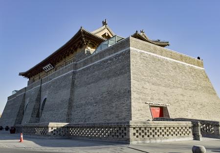 China, Hebei Province, Shijiazhuang City. Zhengding Ancient City Yanghe Building