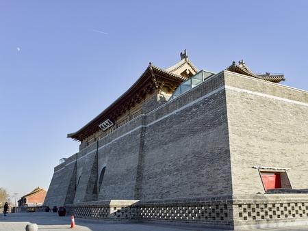 China, Hebei Province, Shijiazhuang City. Zhengding Ancient City Yanghe Building Stock Photo - 117656417