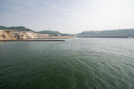 Henan, China, Jiyuan City, Yellow River Xiaolangdi Water Conservancy Scenic Area