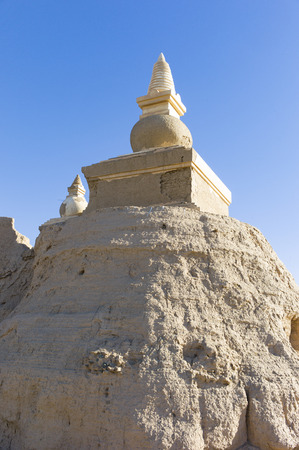China, Inner Mongolia, Ejinaqi,Heicheng Historic Site