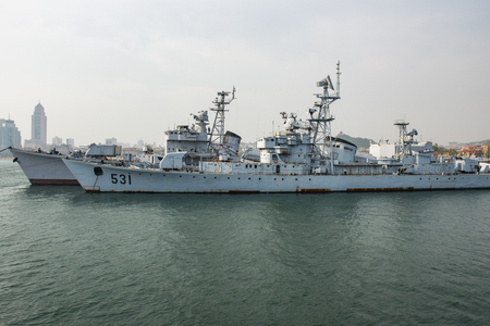 China, Shandong Province, Qingdao, China Naval Museum